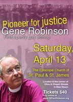 An evening with Bishop Gene Robinson - First openly...