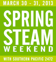 Spring Steam Train Weekend 2013