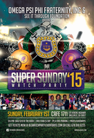 Annual BLL (Omega Psi Phi ) Superbowl Watch Party 2015