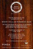 Launch of the Root Cellar Whiskey Bar at Pinea