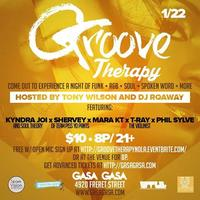 GROOVE THERAPY: A night of FUNk, R&B, Soul, Spoken...