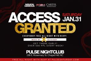 #AccessGranted Everybody FREE All Night with RSVP...