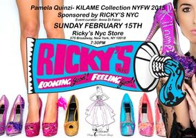 Pamela Quinzi Fashion Show sponsored by Ricky's NYC
