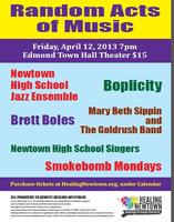Random Acts of Music at Edmond Town Hall - Friday...