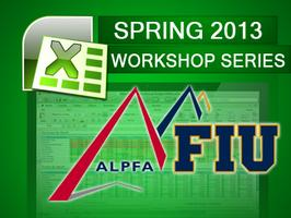 ALPFA TECH GROUP Excel Workshop Series