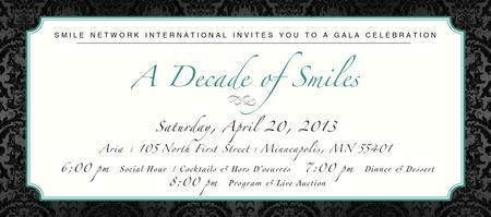 Smile Network's Global Gala Event