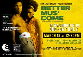 BETTER MUS' COME (Special Screening)