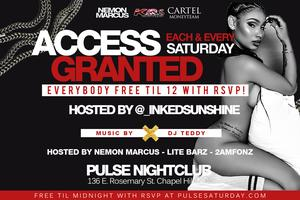 #AccessGranted Everybody FREE til Midnight with RSVP...