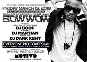 Bow Wow Birthday Party At Motivo NYC