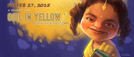Girl in Yellow Fundraising Event (in lieu of attendance)