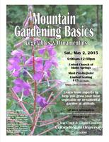 Mountain Gardening Basics Workshop at United Church of ...
