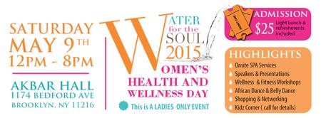 Water for the Soul 2015 Women's Health and Wellness Day