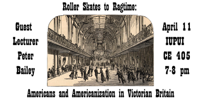 """Peter Bailey, """"Roller Skates to Ragtime"""""""