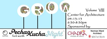 PechaKucha Night in Fort Worth Vol. 08