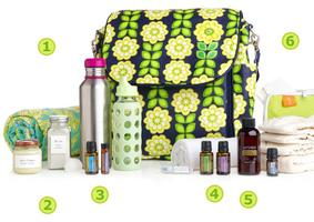 Make Over Your Diaper Bag with All Natural Solutions