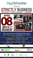 Networking Event: Strictly Business - April 2013