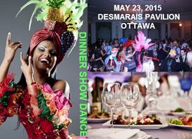OTTAWA SOLEIL NEW AND UNIQUE INTERCULTURAL THEMED DINNER-SHOW-DANCE