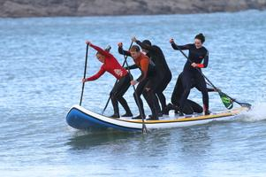 With SUP racing taking off across the UK, we thought it was about time we got a series going down west, in the amazing setting of Carbis Bay, St Ives. Ocean Sports Centre will be running Summer Fun SUP Series, which will comprise of 4 races, each race being held on a Friday evening finishing off wit…