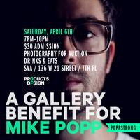 A Gallery Benefit for Mike Popp