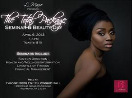 """"""" The Total Package"""" Beauty Day and Seminar"""