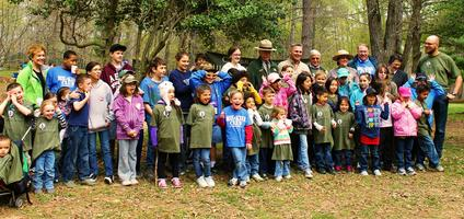 Celebration of the Military Child Outdoors