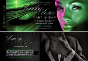 """SUNDAY SOIREE """"A SOUL-PHISTICATED"""""""