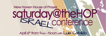 saturday@theHOP: Israel Conference with Luis Cataldo