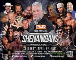 Shenanigans Meet & Greet Party Hosted by Kevin Nash -...