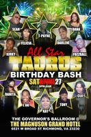 All-Star Taurus Birthday Bash featuring DaMixx Band...