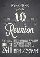 PVHS & HHS Presents: 10 YEAR REUNION