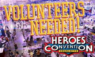 HeroesCon 2013 Volunteer
