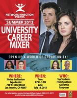 Network Kinection Summer 2013 University Career Mixer