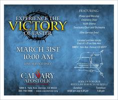 Experience The Victory Of Easter