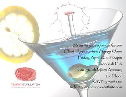 Tenant Evaluation's: Client Appreciation Happy Hour!