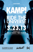 La Nuit Presents: KAMP! (Live) w/ Ride The Universe