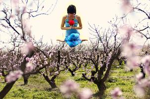 Yoga in the Orchard at Frog Hollow Farm