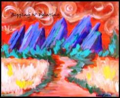 Sip N' Paint Summer Flatirons Tuesday June 25th, 6pm