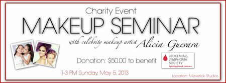 Charity Makeup Seminar to benefit Leukemia & Lymphoma...