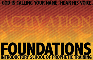 FOUNDATIONS | 1-Day Workshop Prophetic Training - Aug...