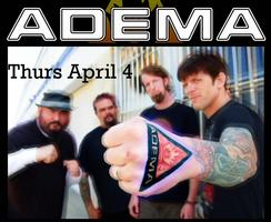Adema 4/4 Covington, LA + Traverser + Down the Phoenix
