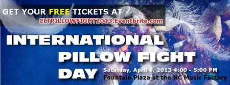 The FREE International Pillow Fight Day