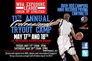 WBA 11th Annual Professional Tryout Camp