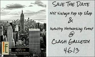 Industry Events presents NYC Vintage Pop-Up Shop