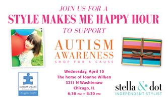 Autism Speaks - Style Makes Me Happy Hour & Fundraiser