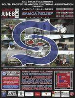 Pacific Islanders for Samoa Relief Benefit