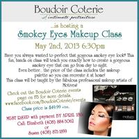 Smokey Eyes Makeup Class