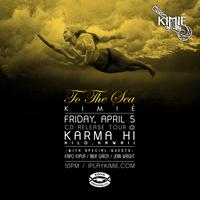 "Kimié ""To The Sea"" CD Release Tour @ Karma's"