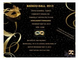 Masked Ball Scholarship Fundraiser