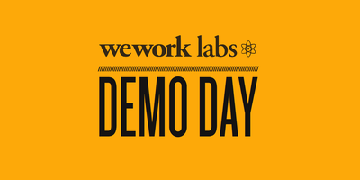 WeWork Labs Med-Tech Demo Day