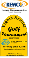 Boys & Girls Club of Boerne 8th Annual Golf Tournament